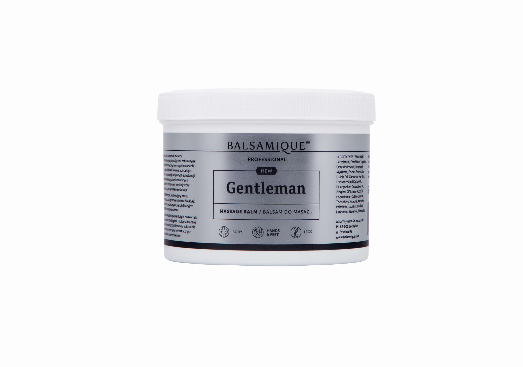 BALSAM do masażu GENTLEMAN, 500ml