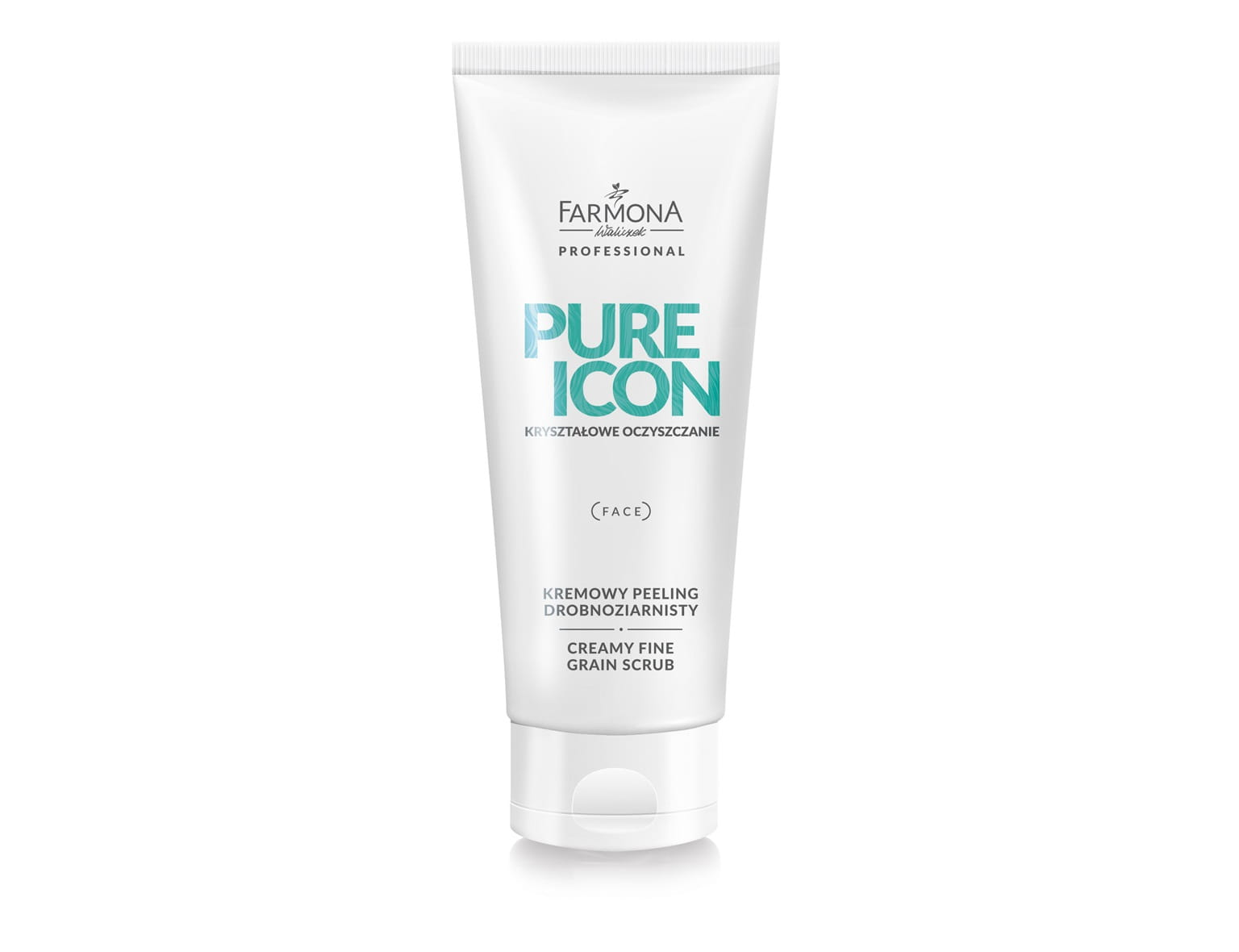 PURE ICON Kremowy peeling drobnoziarnisty, 200ml
