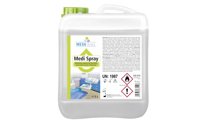 MEDI Spray 5l, neutral zapach
