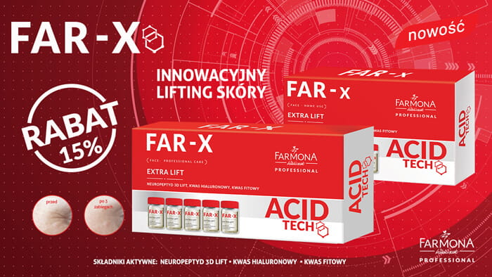 FAR-X Aktywny koncentrat mocno liftingujący 5x5 ml, PROFESSIONAL CARE